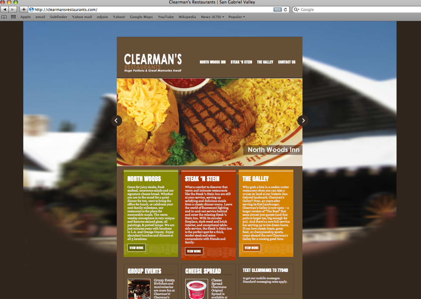 Website Design, Development and Maintenance - Clearmans