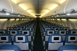 Is it your legal right to be able to recline in an airplane?